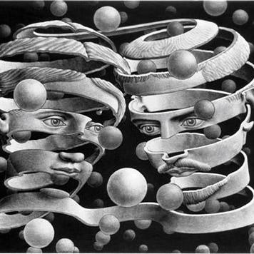 Incastro Escher  quadrato